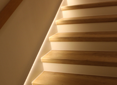Sanierte Treppe von AB-Treppenstudio